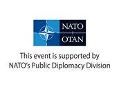 Logo NATO PDD - anglické