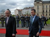 Návštěva generálního tajemníka NATO Anderse Fogh Rasmussena v Praze