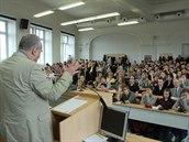 Přední ruský historik Andrej Zubov přednášel studentům Masarykovy univerzity v Brně