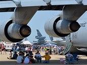 Letecká show na základně Barksdale v Louisianě.