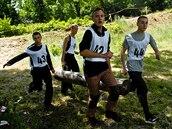 Finále středoškolské soutěže Aliante ve výcvikovém prostoru Lešť na Slovensku