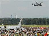 Americký konvertoplán Osprey na Dnech NATO v Ostravě