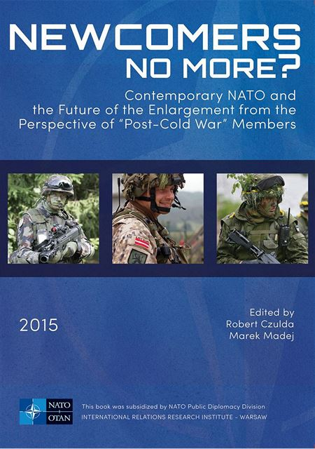 "Obálka publikace ""Newcomers no more? Contemporary NATO and the future of..."