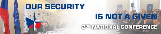 Our security is not a given - conference banner