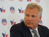 Bývalý polský prezident Aleksander Kwaśniewski na národní konferenci