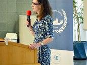 Zástupce IC NATO na zahájení pražského modelu                OSN 2. února 2016. IC NATO je partnerem projektu.