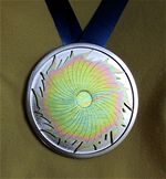 Sunburst Award medal