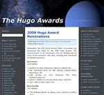 Hugo web Awards 2009