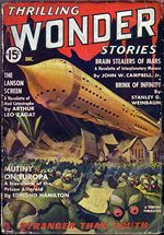 Thrilling Wonder Stories Brain Stealers of Mars