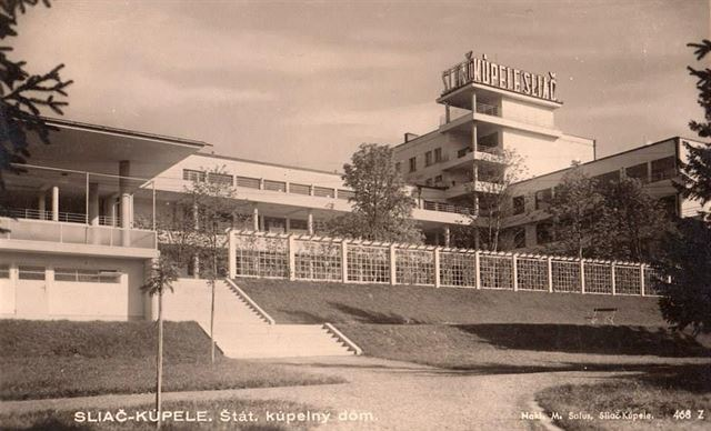 sanatorium ve Sliači