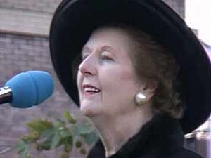 Margaret Thatcherová (iDnes)