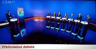 ČT - volební debata