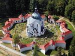 Poutní kostel na Zelené hoře u Žďáru