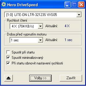 Nero CD Speed 1.60