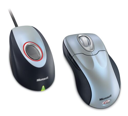 MS  Wireless IntelliMouse Explorer with Fingerprint Reader