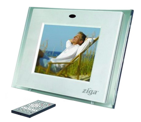 Ziga digital picture frame photos