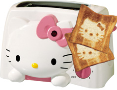 Sanyo Hello Kitty Toaster (www.sanyo.com)