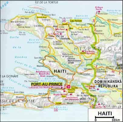 mapa sveta haiti Haiti: Afrika uprostřed Karibiku   iDNES.cz mapa sveta haiti