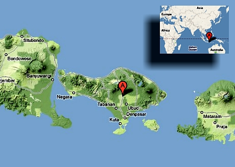bali mapa sveta Bali: nejkrásnější místo na Zemi   iDNES.cz bali mapa sveta