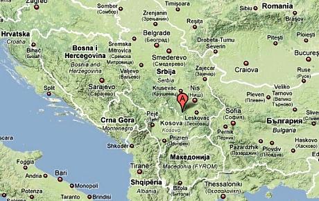 djavolja varos mapa Đavolja Varoš, srbský přírodní div světa   iDNES.cz djavolja varos mapa