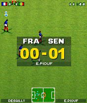 Screenshot FOTBAL (Nokia N-Gage)
