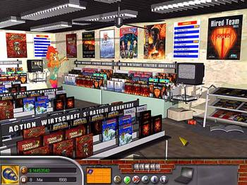 MorphOS - hra Software Tycoon
