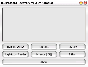 ICQ Password Recovery