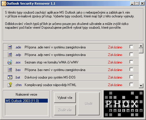 Outlook Security Remover