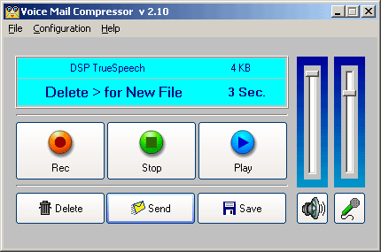 Voice Mail Compressor