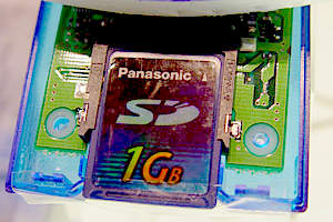 Panasonic SD karta s kapacitou 1 GB