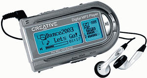 Creative Digital MP3 Player LX200
