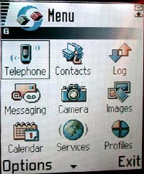 Nokia 7650 program manager