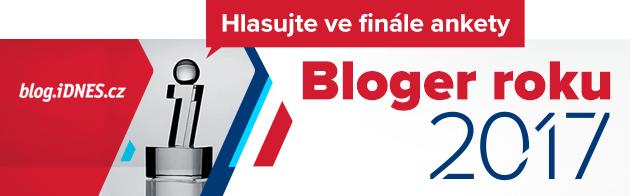 Hlasujte ve finále Blogera roku